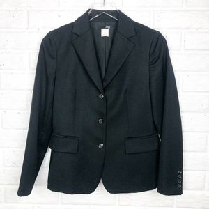 J. CREW Black Wool Suit | Classic Career w…
